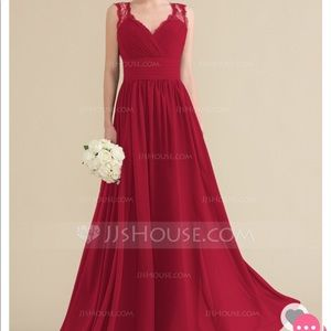 jjs house Dresses - Burgundy colored bridesmaid dress. NWT